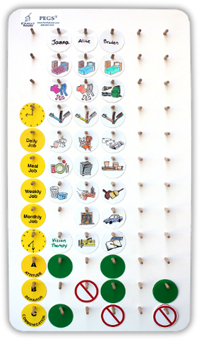 Medium PEGS kit - The best chore chart available!