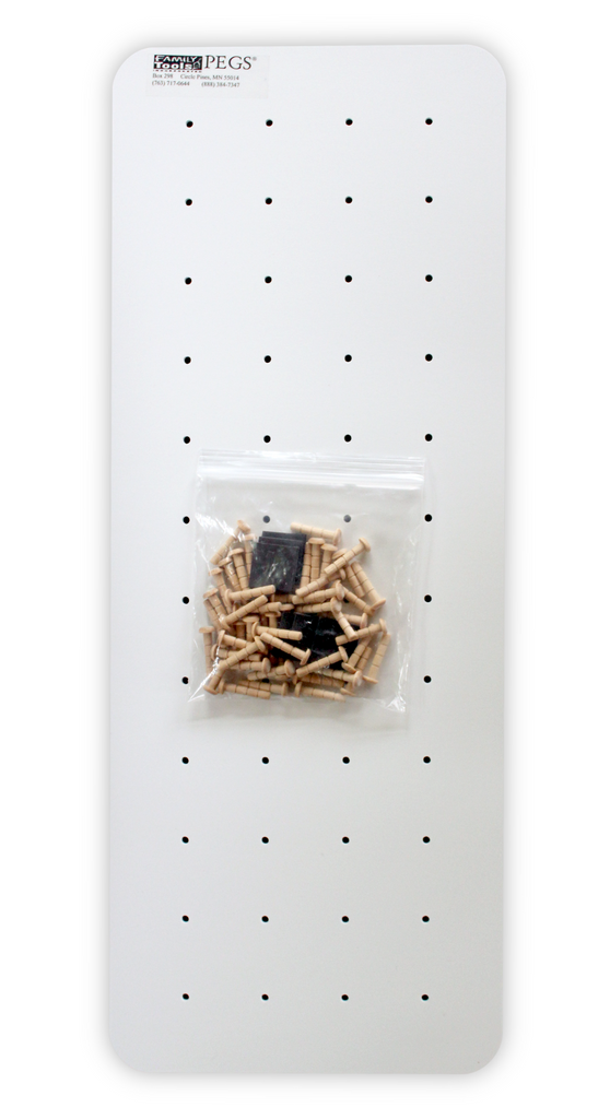 Small Pegboard - Use this as a replacement board or for your own create use of PEGS!