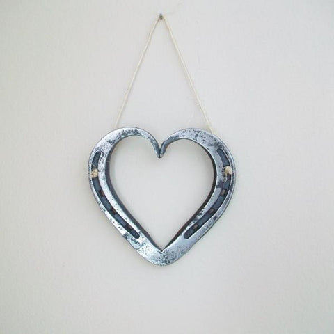 Steel Horseshoe Heart