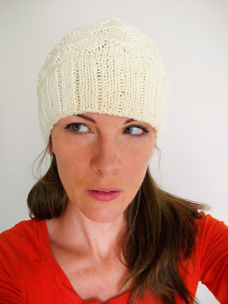 Slouchy Knit Hat Gender Neutral