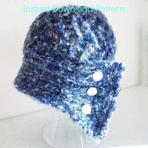 Madame Coco Cloche Hat Knitting Pattern