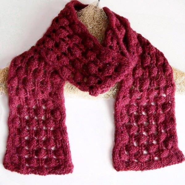 Berry Briar Scarf Pattern