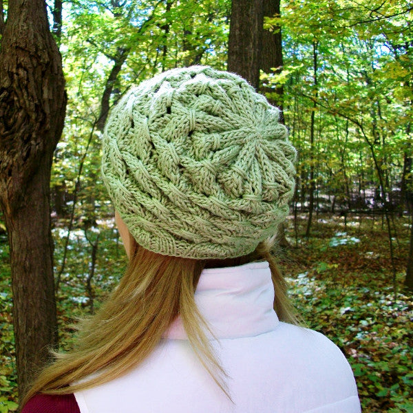 Shamrock Slouchy Knit Hat Pattern