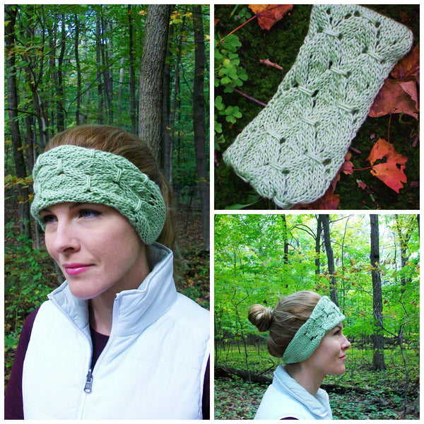 Shamrock Headband Knitting Pattern