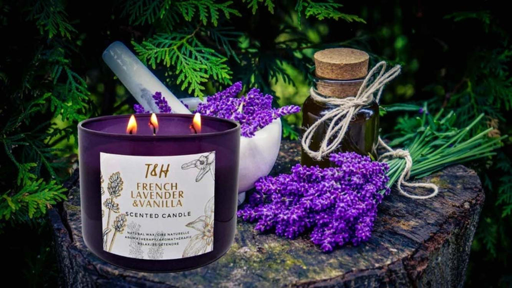 T&H Aromatherapy Candles - best meditation products - In The Calm Store