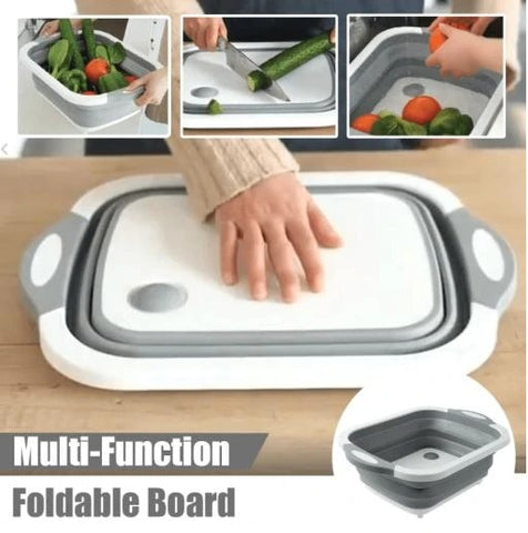 3 in 1 Foldable Multi-Function Chopping Board3