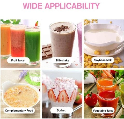 Active Portable USB Rechargeable Juicer Smoothie Maker Blender Capability