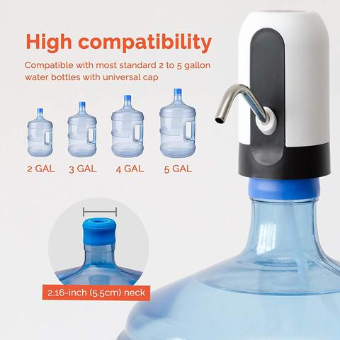 Magic USB Rechargeable Water Dispenser High Compatibility