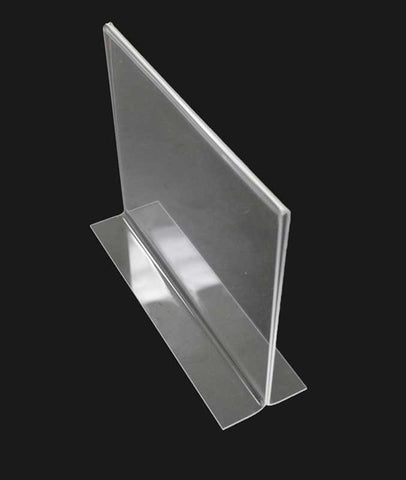 Bottom Loading acrylic Sign holder comes in 4 sizes