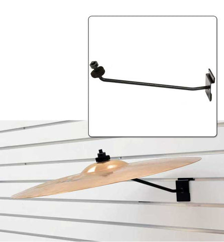 "12"" Cymbal Display Arm for slatwall"