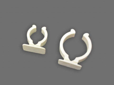 1 inch and 1.25 inch Pole Clips package of 10