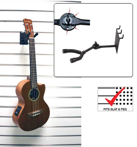"3"" Ukulele /  Mandolin Hanger, Adjustable"