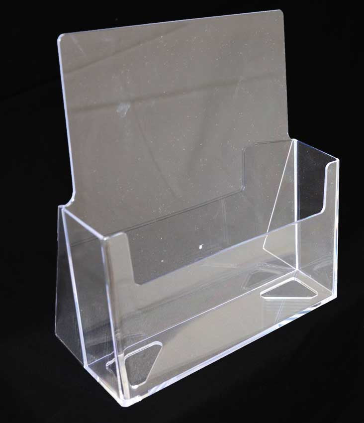 "ACRYLIC LITERATURE RACK 8 ½"" X 11"""