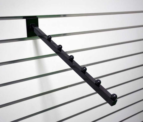 SLATWALL WATERFALL 6 BALL, BLACK