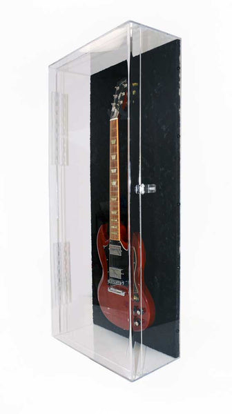 Acrylic Acoustic Electric Guitar Display Case Musical