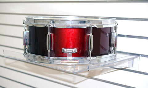 Acrylic Snare Drum Shelf