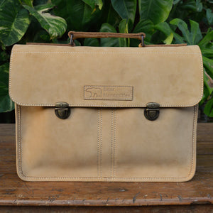 Balloo in Nubuck Leather - Leather Messengers and satchels - Durable Leather Classics - Bear Necessities