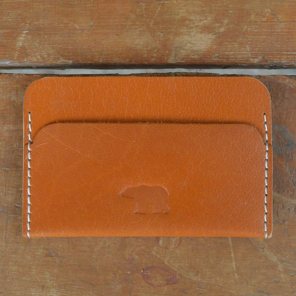 Classic Cardholder - Leather Cardholders - Durable Leather Classics - Bear Necessities