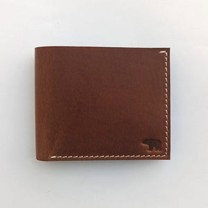Classic Bi-Fold - Leather Men's wallets - Durable Leather Classics - Bear Necessities