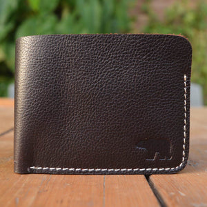 Cub - Dark Brown - Leather Men's wallets - Durable Leather Classics - Bear Necessities