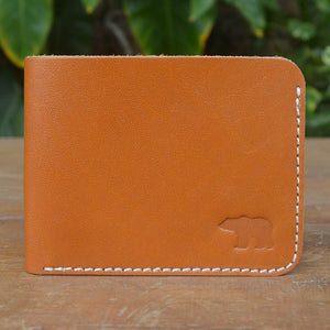 Kit - Mustard - Leather Men's wallets - Durable Leather Classics - Bear Necessities