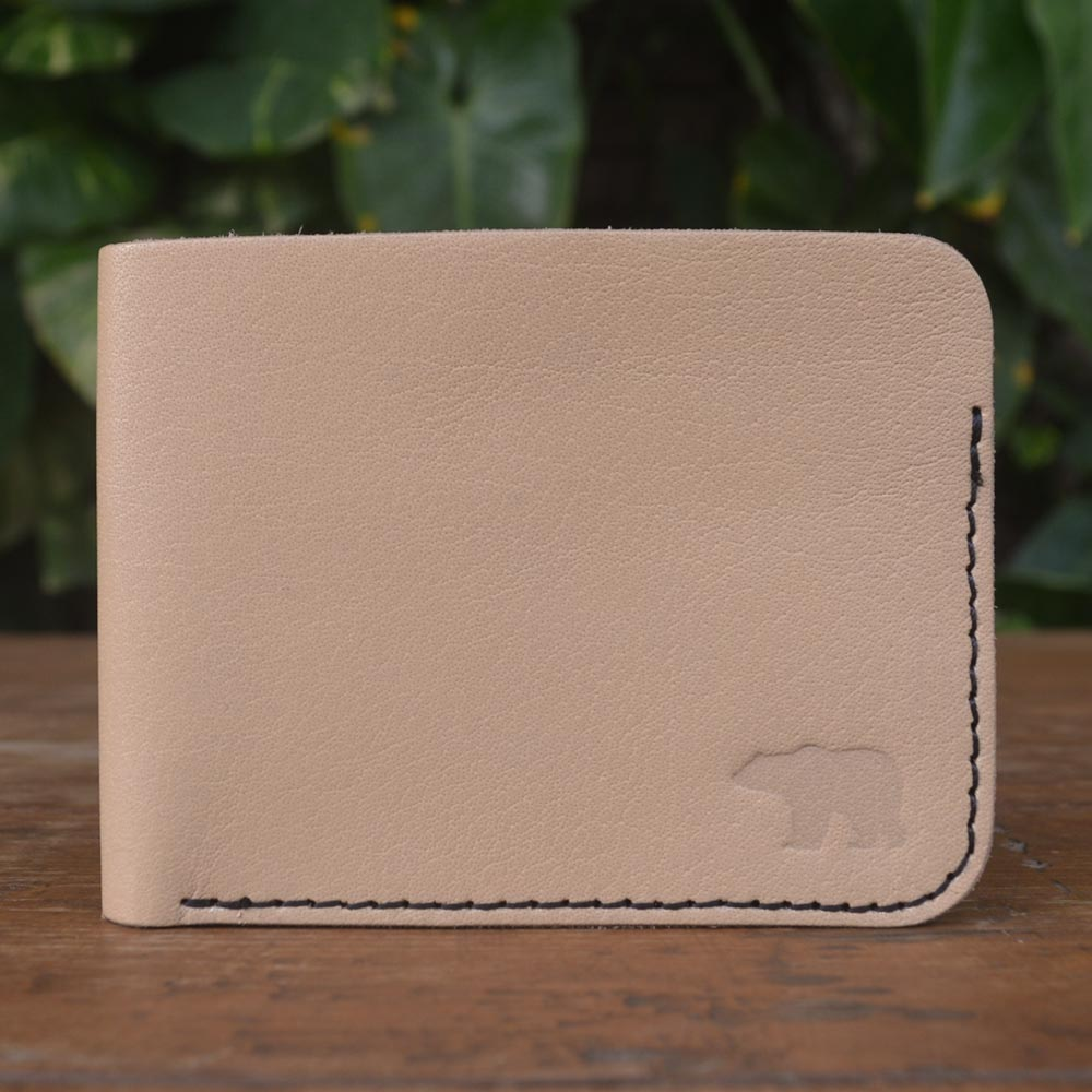 Cub - Light Tan - Leather Men's wallets - Durable Leather Classics - Bear Necessities