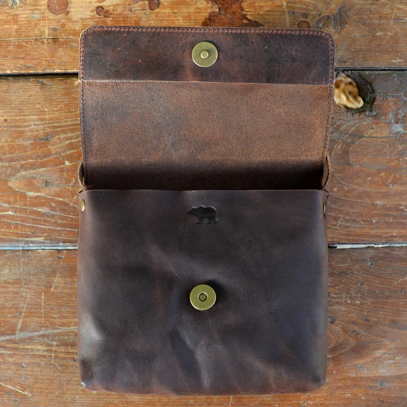 Daisy - Brown - Leather Crossbody bags - Durable Leather Classics - Bear Necessities