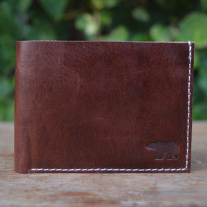 Jock - Leather Men's wallets - Durable Leather Classics - Bear Necessities