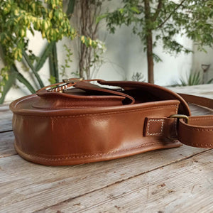 Kamaiya - Leather Crossbody bags - Durable Leather Classics - Bear Necessities