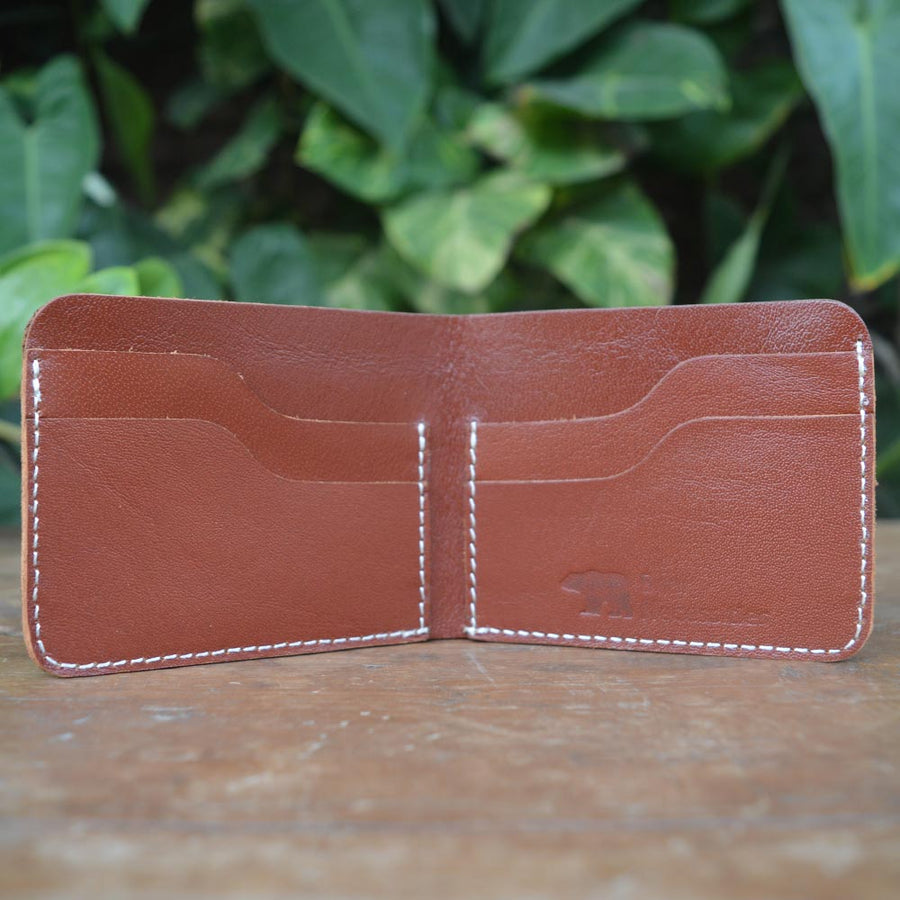 Kit - Leather Men's wallets - Durable Leather Classics - Bear Necessities