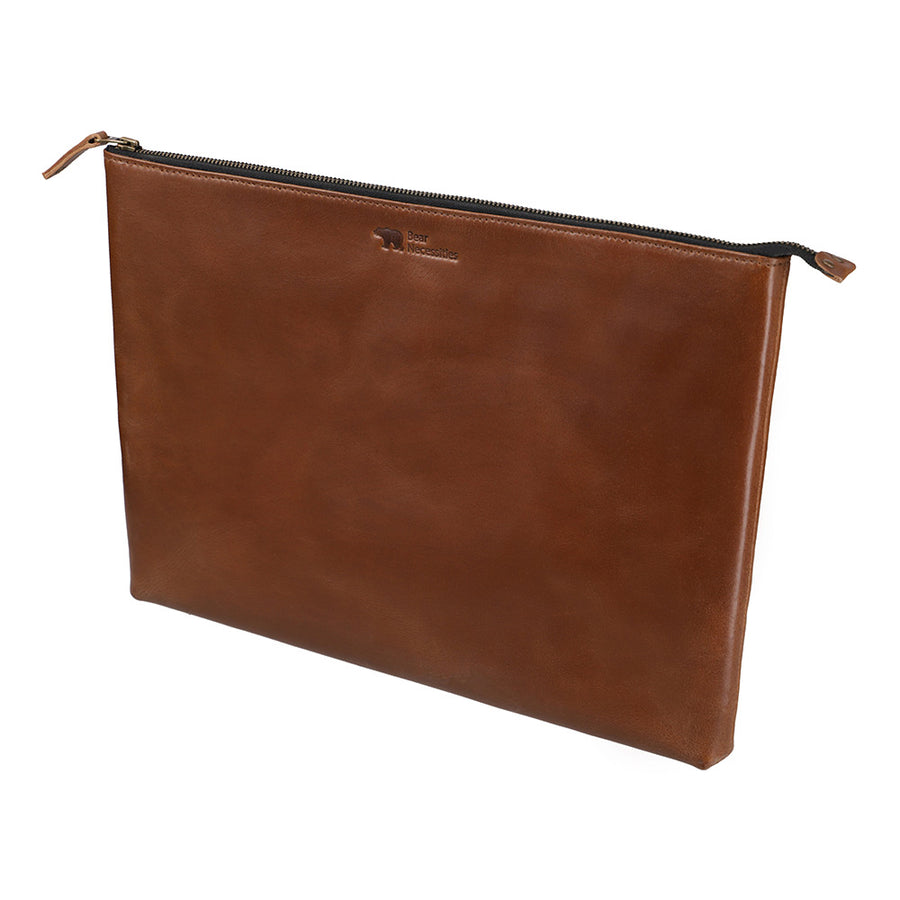 Laptop Sleeve - Leather - Durable Leather Classics - Bear Necessities