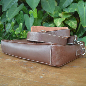 Leo - Leather Messengers and satchels - Durable Leather Classics - Bear Necessities