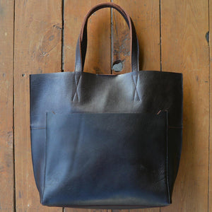 Lily - Leather Totes - Durable Leather Classics - Bear Necessities
