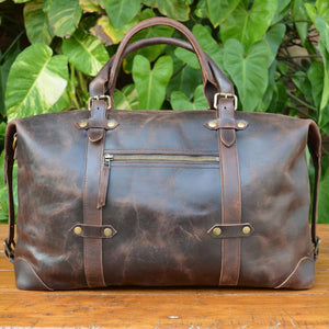 Rebel - Crazy Horse - Leather Weekend bags - Durable Leather Classics - Bear Necessities