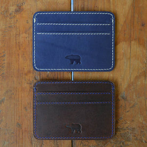 Ted - Leather Cardholders - Durable Leather Classics - Bear Necessities