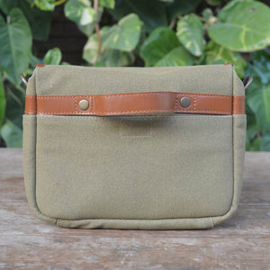 Canvas Camera Bag - Leather Messengers and satchels - Durable Leather Classics - Bear Necessities