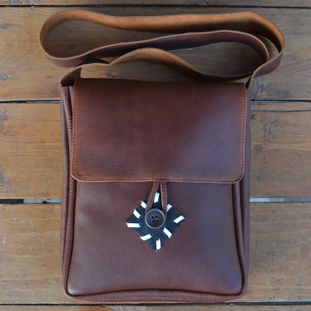 Compass - Leather Messengers and satchels - Durable Leather Classics - Bear Necessities