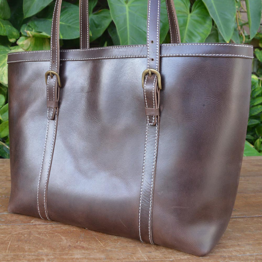 Smart Tote - Leather Totes - Durable Leather Classics - Bear Necessities