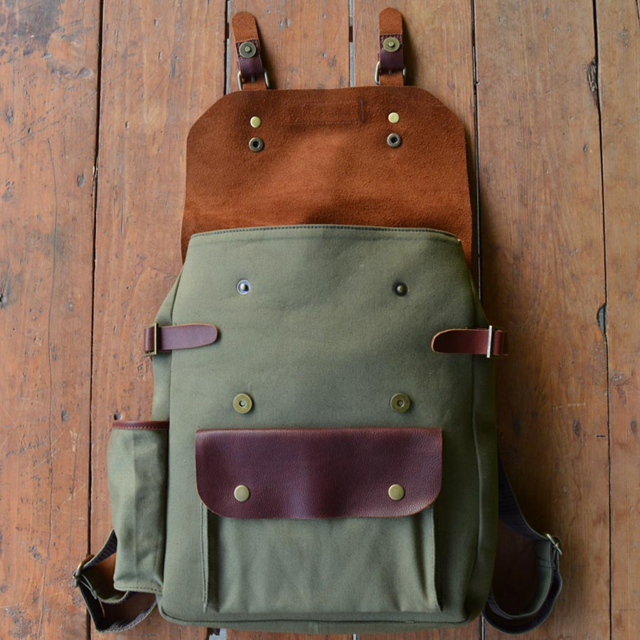 Peru - Leather Backpack - Durable Leather Classics - Bear Necessities