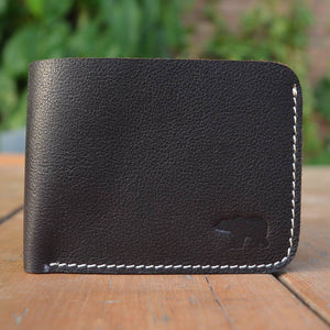 Kit - Dark Brown - Leather Men's wallets - Durable Leather Classics - Bear Necessities