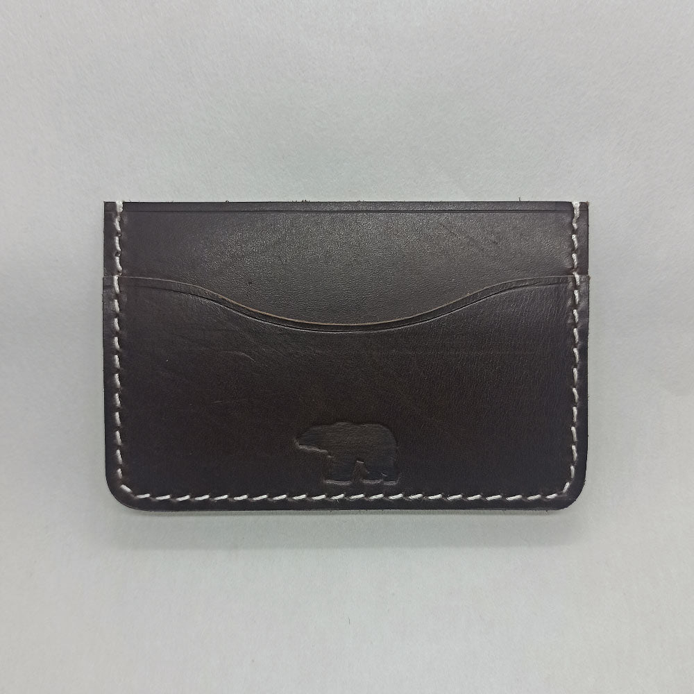 Classic Cardholder - Dark Brown - Leather Cardholders - Durable Leather Classics - Bear Necessities
