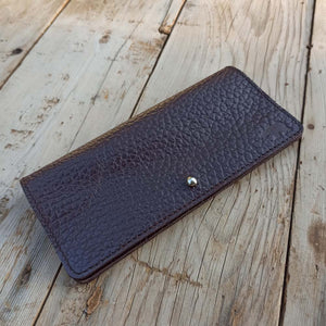 Slim Clutch - Ruby Black - Leather Women's wallets - Durable Leather Classics - Bear Necessities
