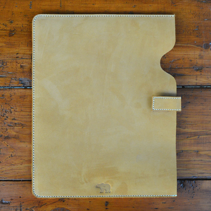 Classic iPad Cover - Nubuck - Leather Phone and tablet covers - Durable Leather Classics - Bear Necessities