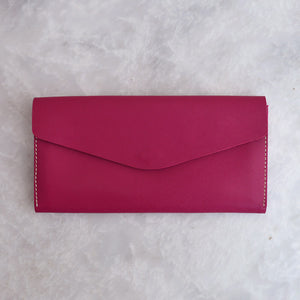 Mehru - Fuchsia - Leather Women's wallets - Durable Leather Classics - Bear Necessities