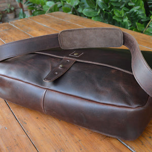 Classic Messenger - Leather Messengers and satchels - Durable Leather Classics - Bear Necessities