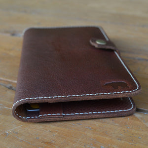 Passport Wallet - Leather Travel accessories - Durable Leather Classics - Bear Necessities