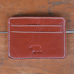 Ted - Brown - Leather Cardholders - Durable Leather Classics - Bear Necessities
