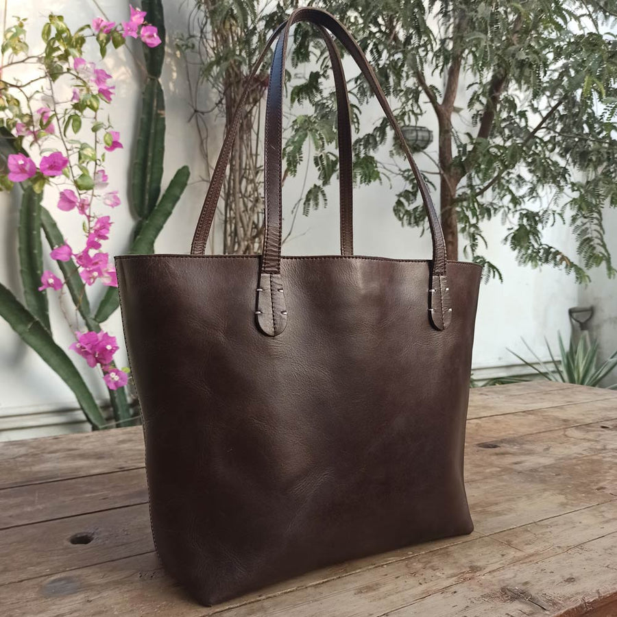 Vintage Tote - Leather Totes - Durable Leather Classics - Bear Necessities