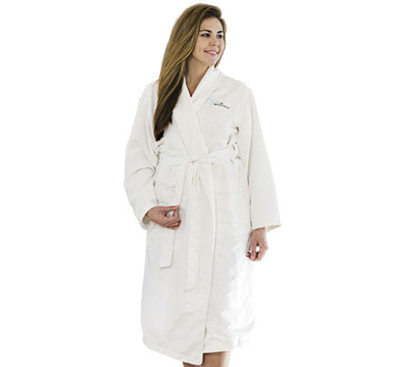 Cotton Microfiber & Terry Bathrobe