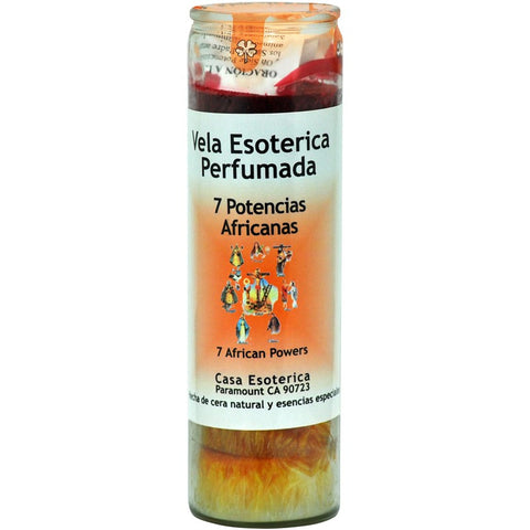 7 African Powers Palm Oil Wax Candle